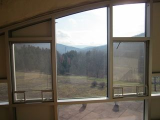 Roxbury house photo - Mountainous views from the Mezzanine.