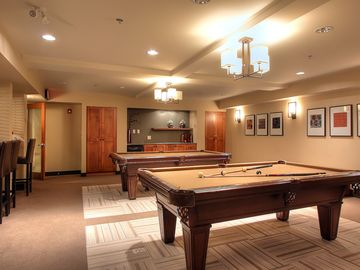 Cascade Club Games Room