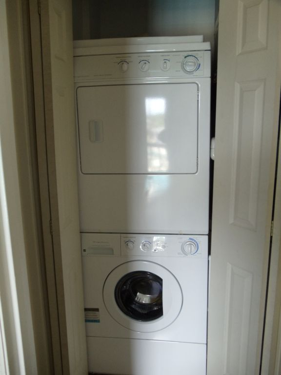 New washer/dryer in the condo.