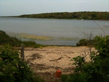 Private beach, great for launching Kayak or Sunfish. Or, take a swim.