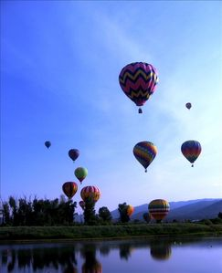 Hot Air Balloon Festival in July
