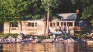 Grand Lake Stream cabin photo - lakeside view of house
