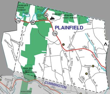 Local Plainfield 01070 Map