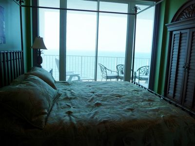 Great View of Gulf from Master Bedroom