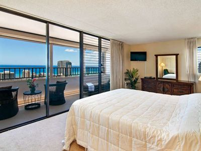 The Ocean View from the Master Bedroom