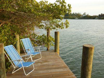 Cape Haze house rental - Private Dock on Kettle Harbor