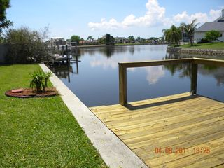 Port Charlotte house photo - Canal view