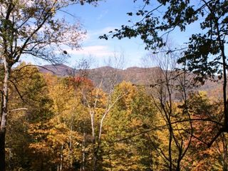 Maggie Valley chalet photo - View from the Deck in October
