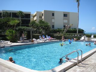 Boca Grande condo photo - Beachside Pool and Hot Tub