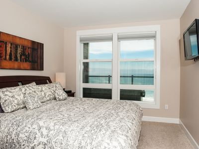 Oceanfront Master Bedroom