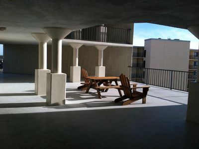 Large public balcony