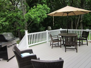Deck # 1 - Brand New Composite Decking with new Grill
