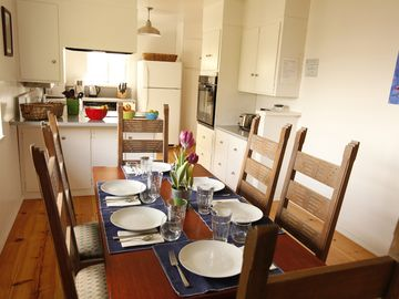 Mariposa house rental - Great place to share a meal and relax.