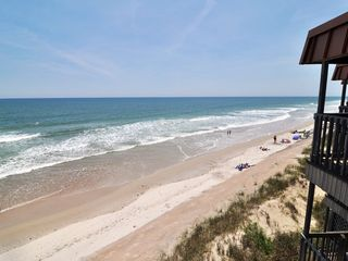 Surf City condo photo - View From Balcony