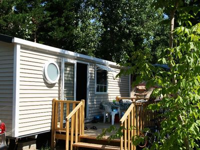 Camping Le Clos Virgile **** - mobile home 6 people - 4/6 (between 0 and 5 years)