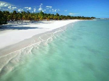 White Sandy Beach and Turquoise Waters