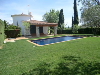 4 bedroom house with pool for rent in Calonge