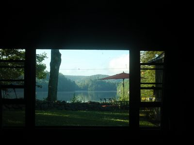View from master king bedroom.
