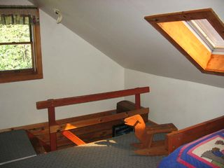 Addison cottage photo - Stairway from loft-
