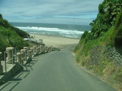 Drive right onto beach in Lincoln City