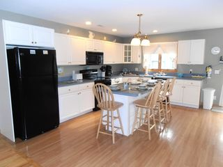 Cape May house photo - Kitchen with breakfast bar