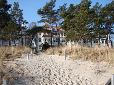 direct beach location and direct access to the beach, balcony with sea view