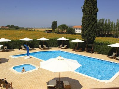 House with swimming pool in a rural location, WIFI / WLAN