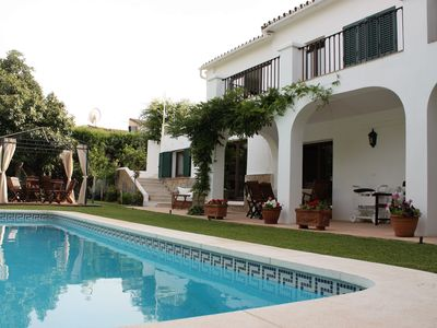 Apartment in Guadalmina, Marbella with pool and private garden