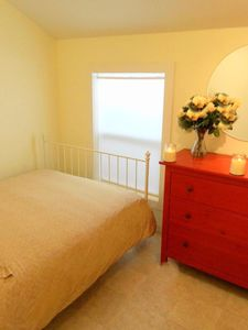 Full Size Bedroom - - Blue Rose Cottage Bar Harbor Vacation Rental