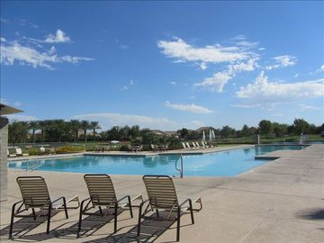 Maricopa house rental - One of Two Community Pools.