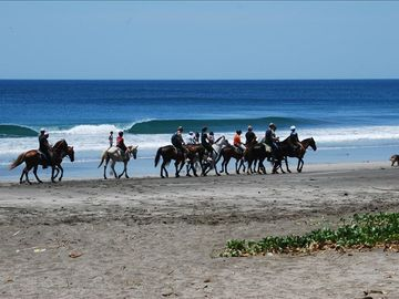 Horseback Riding on Playa Junquillal