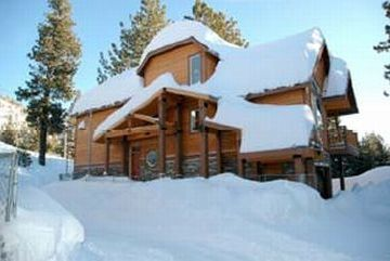 Mammoth Lakes house rental - Winter Wonderland - #5 is the ONLY stand alone home (Private, Quiet and Bright!