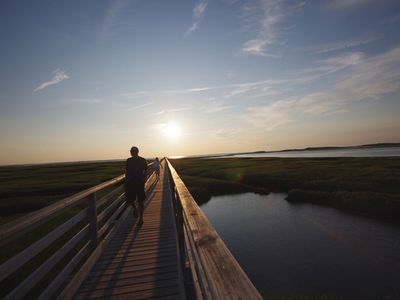 Nearby Gray's Beach Boardwalk is a pleasant place to view birds and wildlife.