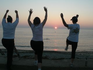 Oak Bluffs condo photo - 6am Daily Exercise on Inkwell Beach