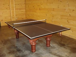Maggie Valley cabin photo - Pool Table/Table Tennis