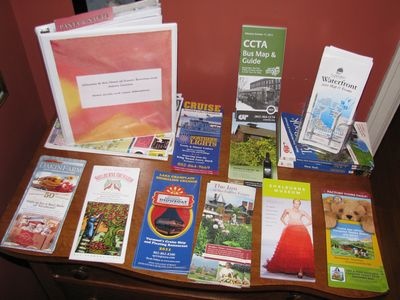 ACTIVITIES: We provide you with a guide book of the area, plus brochures.
