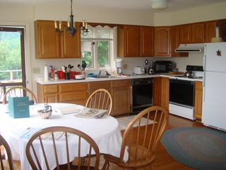 Middletown Springs house photo - kitchen and dining area