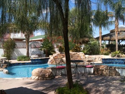 Las Vegas house rental - Pool area
