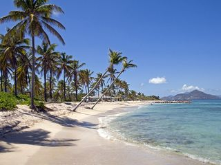 Our beach again west see St Kitts/Nisbet - Nisbet Beach villa vacation rental photo