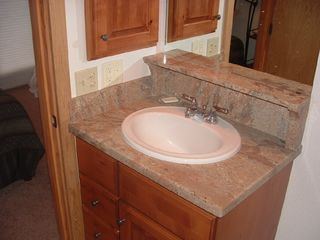 Vail townhome photo - New Baths with Granite and Alder