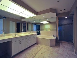 Placida condo photo - Master bath with jacuzzi tub.