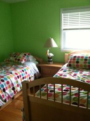 Hampton Bays house photo - .bedroom with 2 single beds