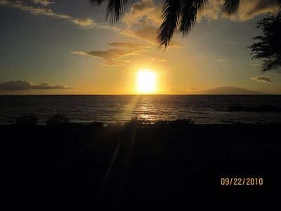 Sunset at Kamaole Beach III