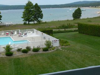 Petoskey condo photo - View From Bedroom Balcony