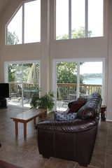 Canyon Lake house photo - Gorgeous Lake View from Living Room Windows