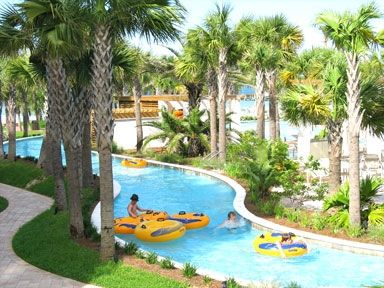 Direct access is right off of your private patio to the 700 foot Lazy River!