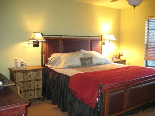 Ruidoso house photo - Cozy in the master suite