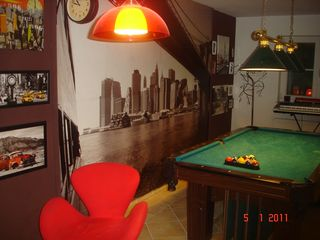 Munich villa photo - billiard area#2