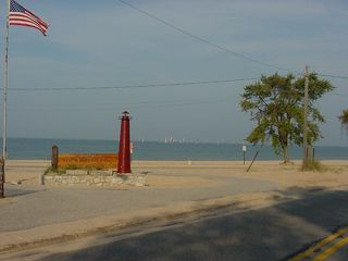 A Couple Minutes Walk From Pedler's Paradise Cottage To Here - Muskegon cottage vacation rental photo