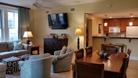 2 BR  Private Patio and Lawn overlooks the Grand Lawn - Calendar is Accurate